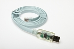 6ft USB Cisco console cable with Rx TX LED's