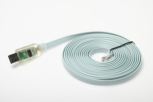 12ft USB Cisco console cable with Rx TX LED's